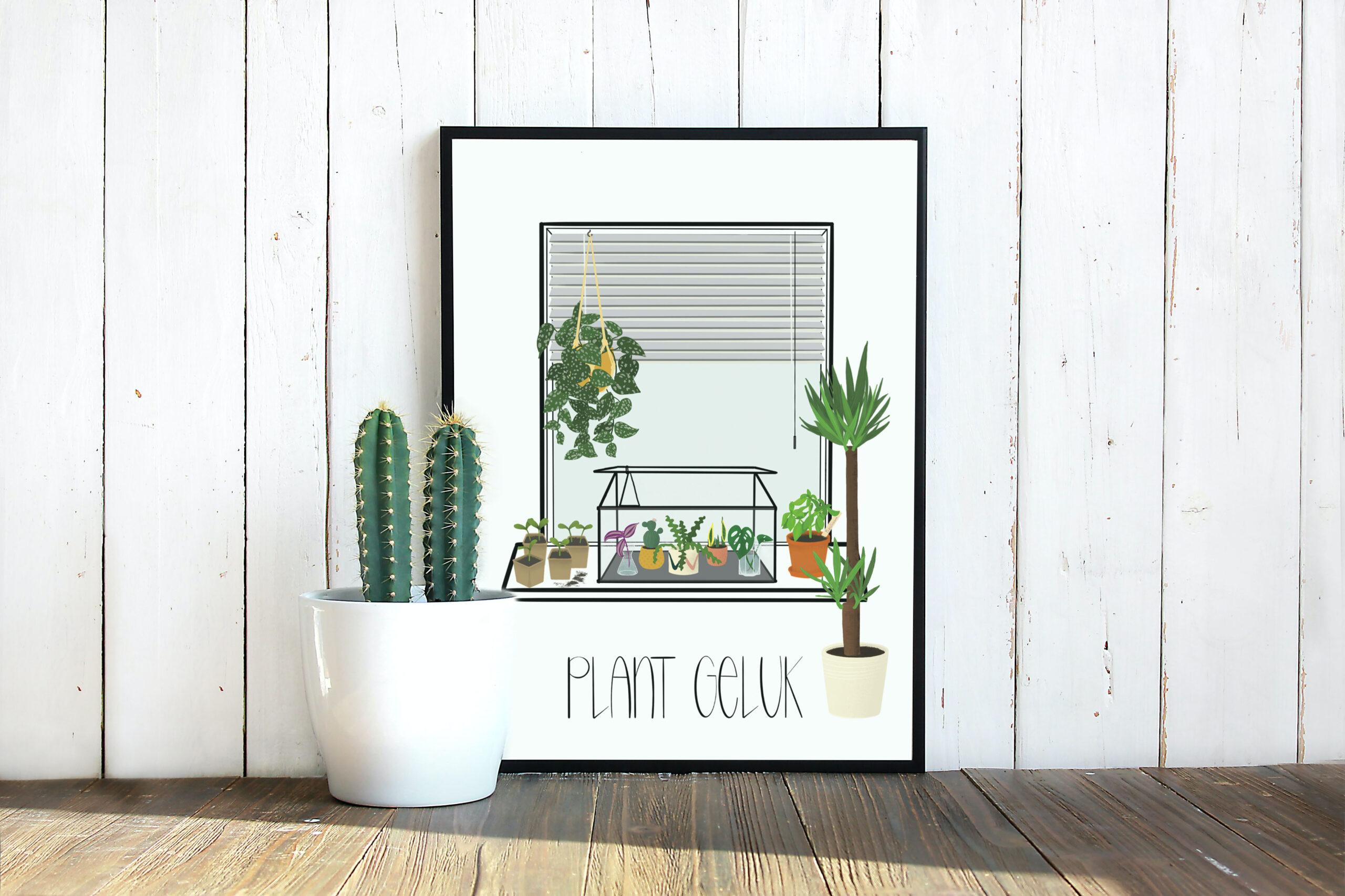 poster-plant-geluk